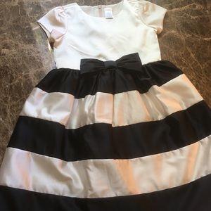 Gymboree Black & White Party Dress